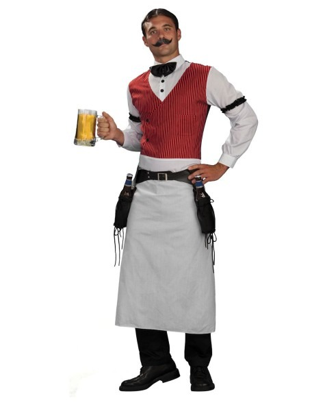 Bartender Adult Mens Costume
