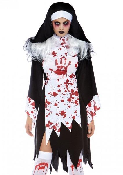 Mad Killer Bloody Nun Costume