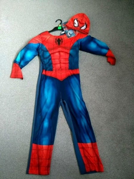 Spiderman Costume With Light Up Chest 7