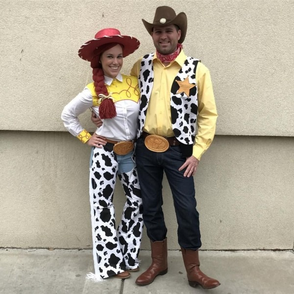 2016 Halloween Costume  Woody And Jessie From Pixar's Toy Story