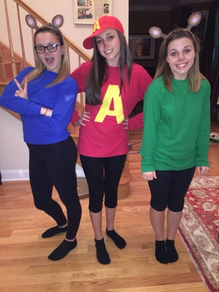 Alvin And The Chipmunks Diy Halloween Costume Best Party Supply