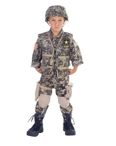 Us Army Boys Costume For Sebastian