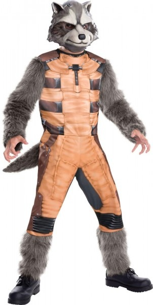 Mens Deluxe Muscle Chest Rocket Costume