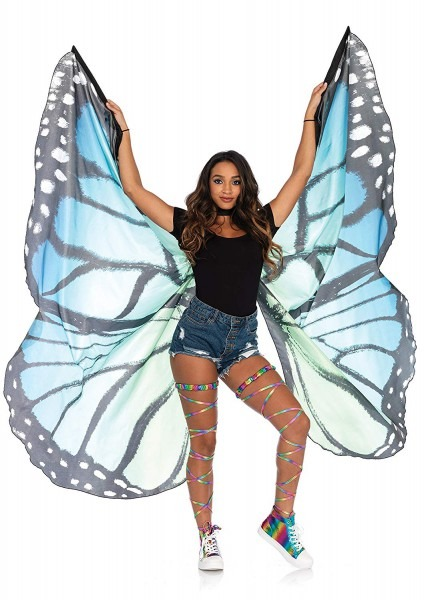 Amazon Com  Butterfly Belly Dance Costume 360¡ãisis Wings Egyptian