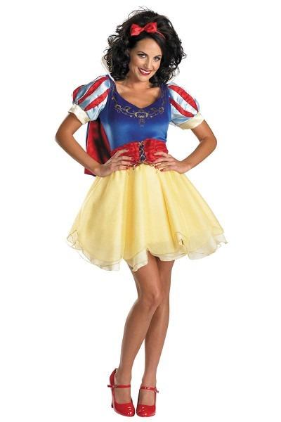 Sassy Snow White Costume Adult