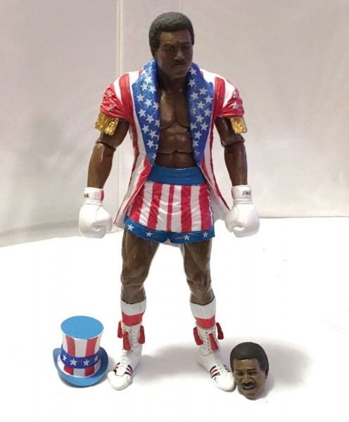 Apollo Creed • Uncle Sam Outfit Drago Fight • C9 • Rocky Iv Neca