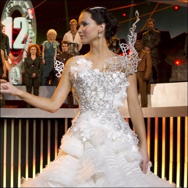Katniss Everdeen Wedding Dress Costume Best Party Supply