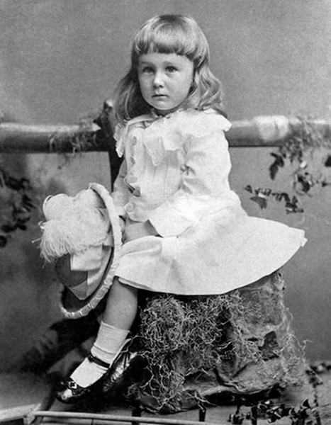 Teddy Roosevelt As A Child