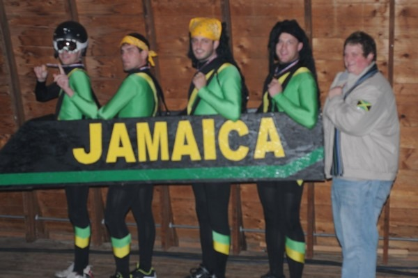 Jamaican Bobsled Team Halloween Costume