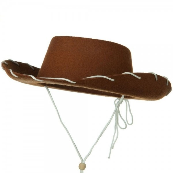 Child Western Woody Cowboy Cowgirl Hat Brown Toy Story Jessie