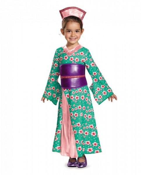 Girls Kimono Princess Child's Asian Geisha Costume Toddlers 12
