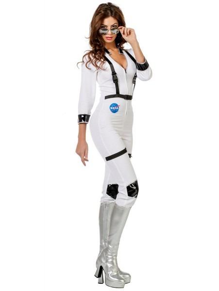 Adult Ladies Sexy Astronaut Costume