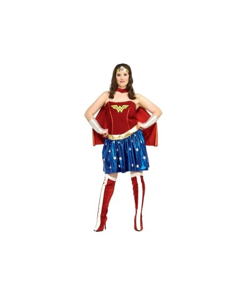 24 Superwoman Plus Size Costume, Plus Size Storybook Sorceress