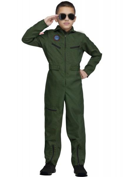 Kids Top Gun Aviator Costume