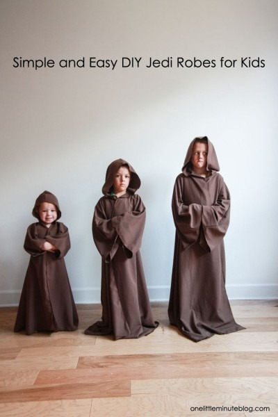 Diy Jedi Robe For Kids