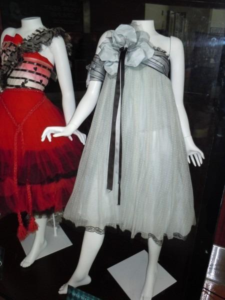 Alice In Wonderland Dresses And Stayne Costume On Display
