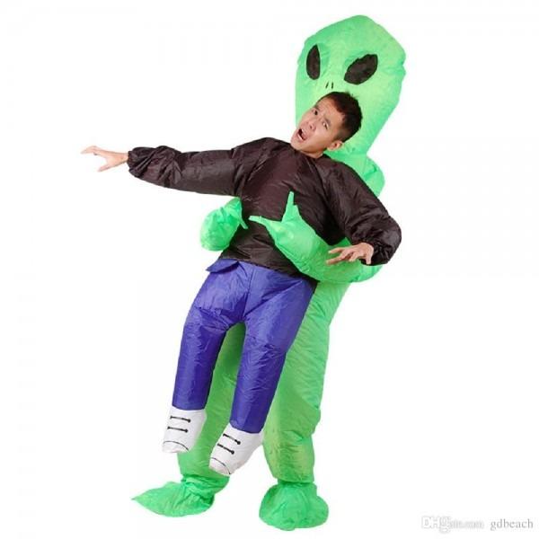 Alien Pick Me Up Halloween Costume Inflatable Grim Reaper Costume