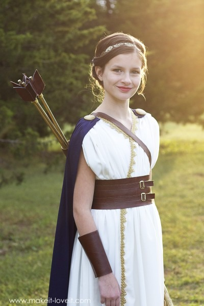 Diy Greek Goddess Costume  Artemis – Make It And Love It