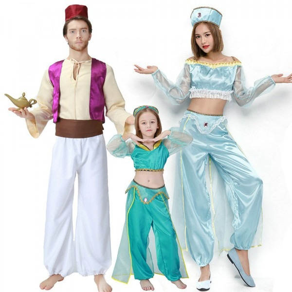 Matching Family Outfits Aladdin Costumes For Halloween