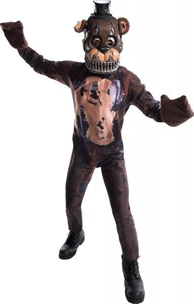 Five Nights At Freddy's Nightmare Freddy Costume Child