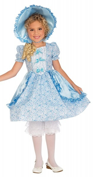 Kids Lil' Bo Peep Costume, Toddler, One Color, Lil' Bo Peep Child