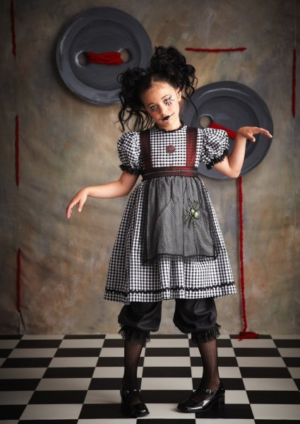 Gothic+rag+doll+kids+costume From Costumeexpress Com