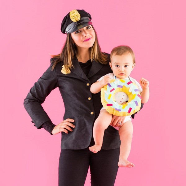 Celebrate The Classic Combo Of Cops + Donuts With This Mommy And