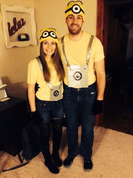 Diy Minions Couples Halloween Costume