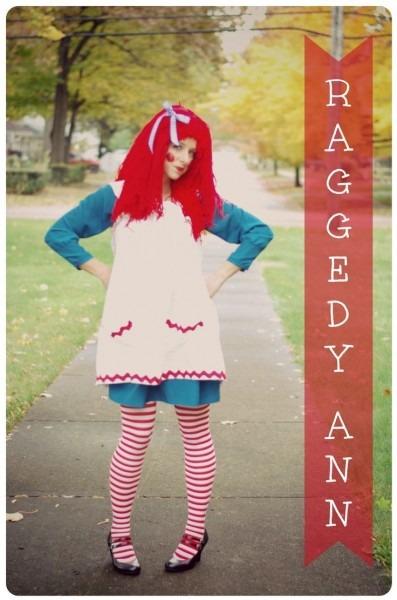 Adult Raggedy Ann Costume