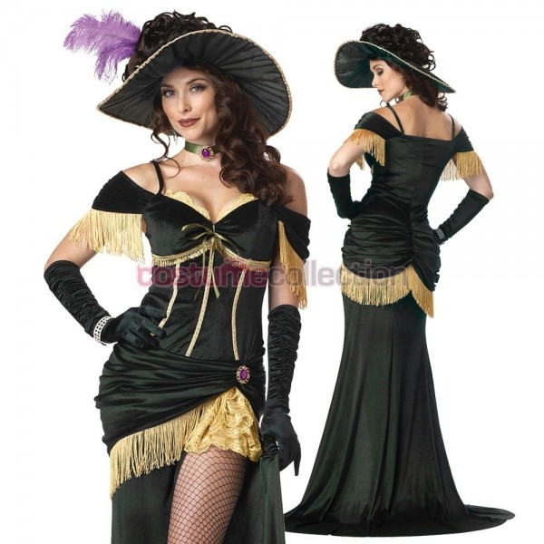 Wild+west+saloon+girl+madame+costume Perfect For Trick