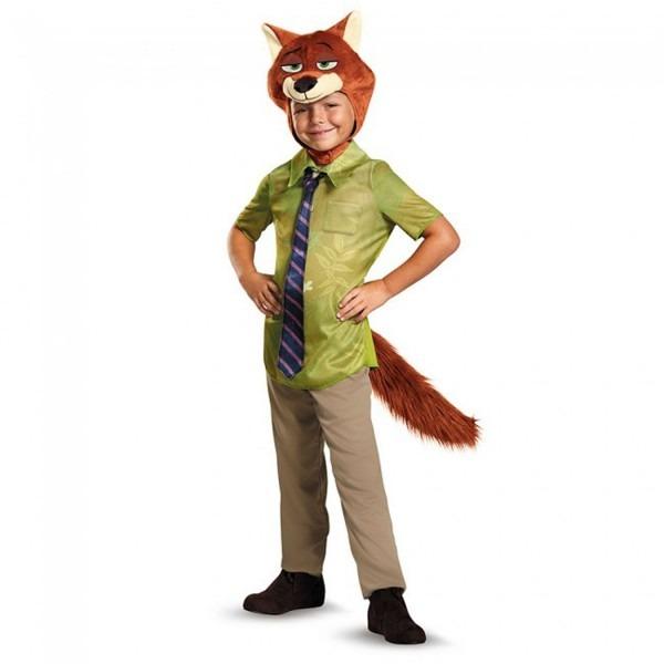 Nick Wilde Classic Zootopia Disney Costume, Small 4