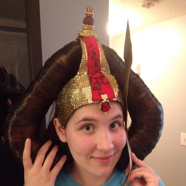 Main Part Of The Queen Amidala Headpiece Is Finally Finished