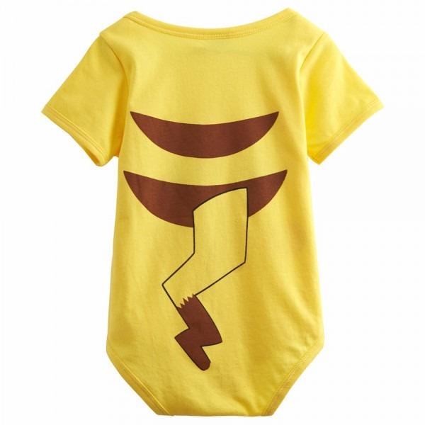 Baby Pokemon Pikachu Costume Bodysuit Infant Gift Newborn Jumpsuit