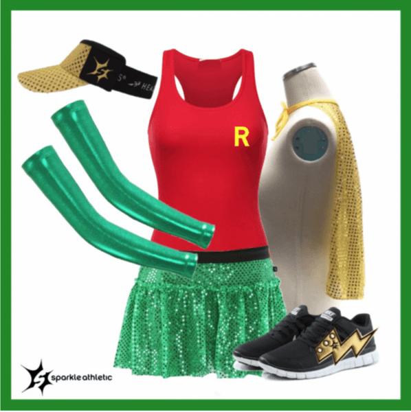 Sparkle Athletic Sidekick Running Costume