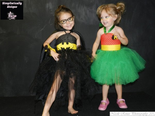 Batman And Robin Tutu Costume, Robin Costumes For Girls