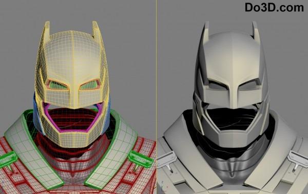 3d Printable Model Of Full Body Armored Batsuit From Batman V