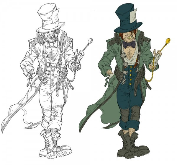 Mad Hatter Concept