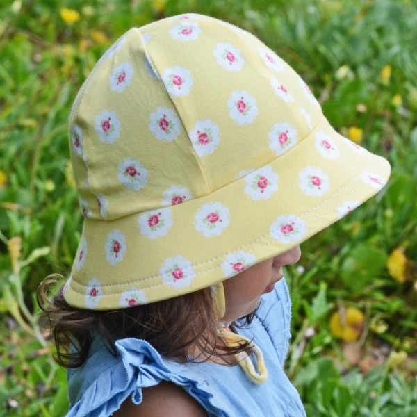 Girls Legionnaire Sun Hat With Strap