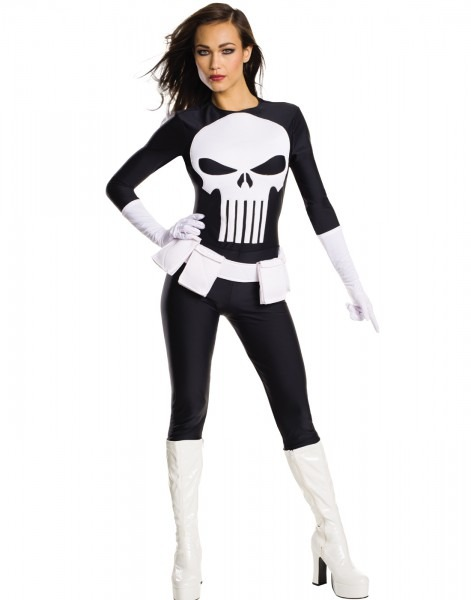 Punisher Secret Wishes Women's Adult Halloween Costume