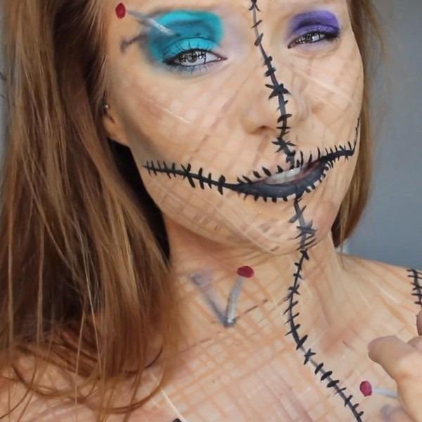 Be A Human Pincushion For Halloween  Diy Voodoo Doll Costume