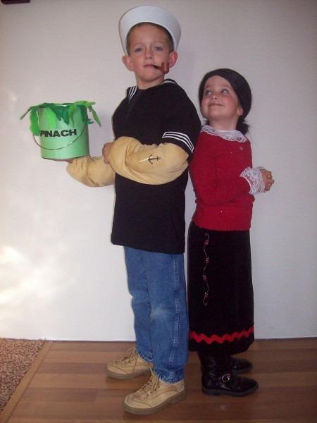 58 Popeye Halloween Costume, Popeye Costumes (for Men, Women, Kids
