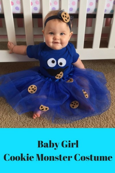 21 Monster Baby Costumes, Cookie Monster Baby Costume Photo 2 2
