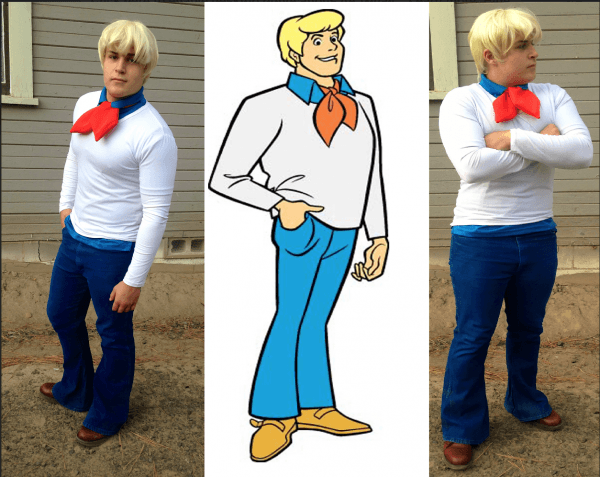 Me And My Brothers Diy Costume For Fred From Scooby Doo!  D So