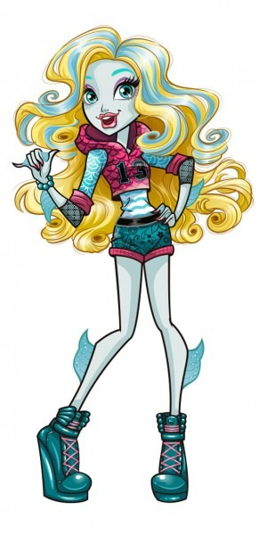 Monster High  Lagoona Blue! Lagoona Blue Is The Daughter Of A Sea