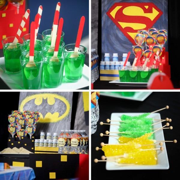 Batman V Superman Party Ideas