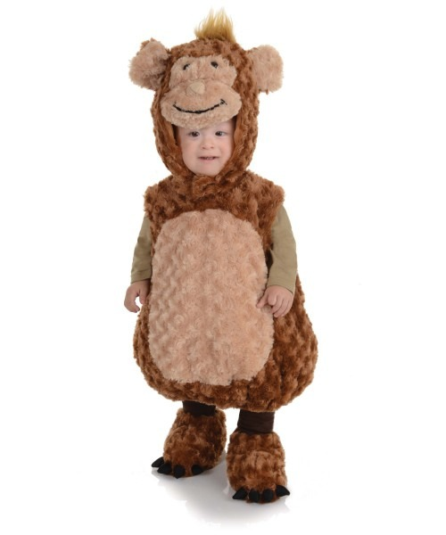 Monkey Toddler Boy Costume