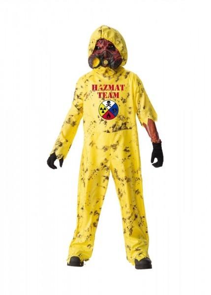 Boys Scary Zombie Hazmat Costume