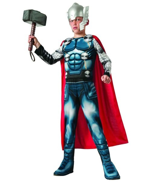 Thor Boy's Muscle Costume