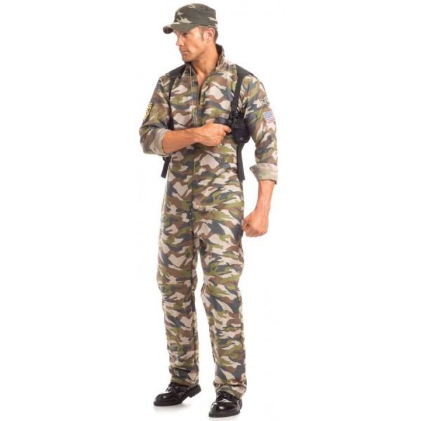 Sergeant Major Mens 2 Piece Halloween Costume