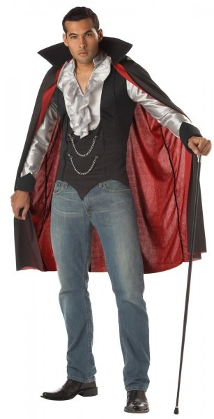 Very Cool And Sexy Vampire Costume